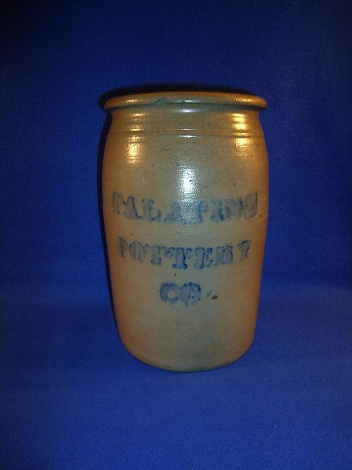 Palatine Pottery Company Stoneware 1 Gallon Jar