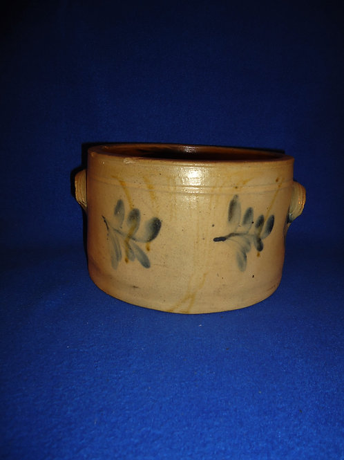 1 Gallon Stoneware Butter Crock, att. Remmey of Philadelphia #5006