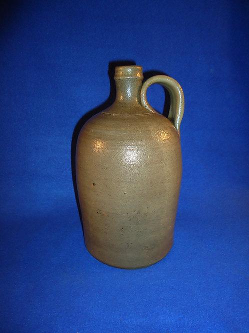 J. D. Craven, Randolph County, North Carolina Stoneware 1/2 Gallon Jug