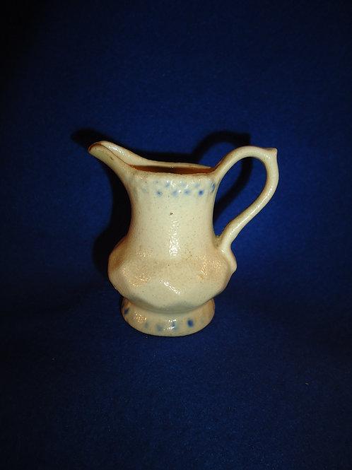 Late 19th Century Miniature Stoneware Pitcher