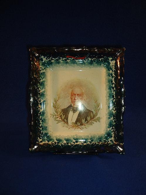 Circa 1898 Staffordshire Commemorative Plaque for William Gladstone