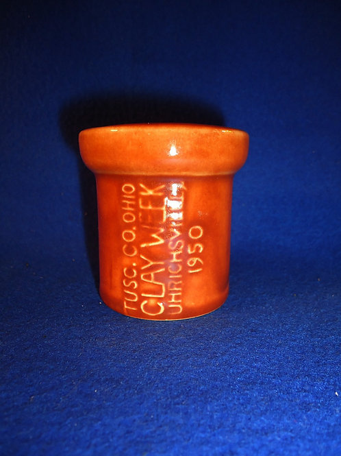 Tuscarawas County, Uhrichsville, Ohio Clay Week Sewer Pipe Sample