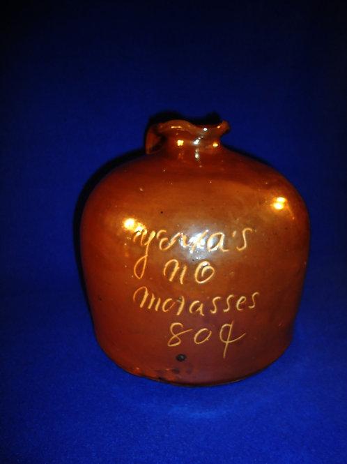 Yerxa's Molasses, New Orleans, Louisiana Stoneware Jug