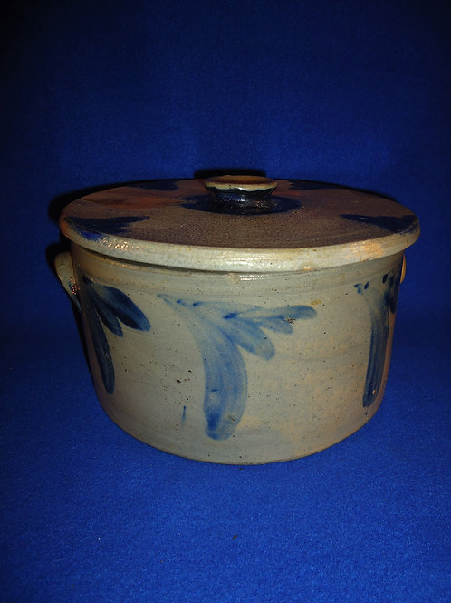 Circa 1870 Stoneware 1 Gallon Cake Crock from Baltimore, Maryland, #4972