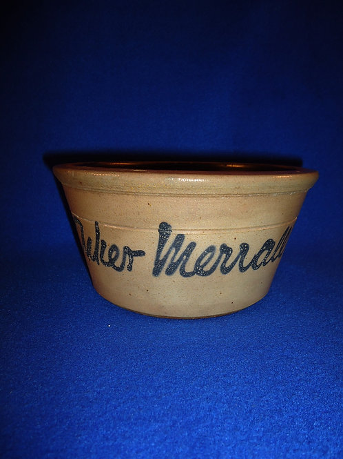 Acker, Merrall, & Condit, Grocers, New York City Stoneware Bowl