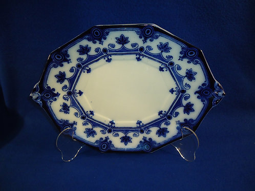Ford & Sons, Burslem, England Flow Blue Platter, Dudley Pattern #5400