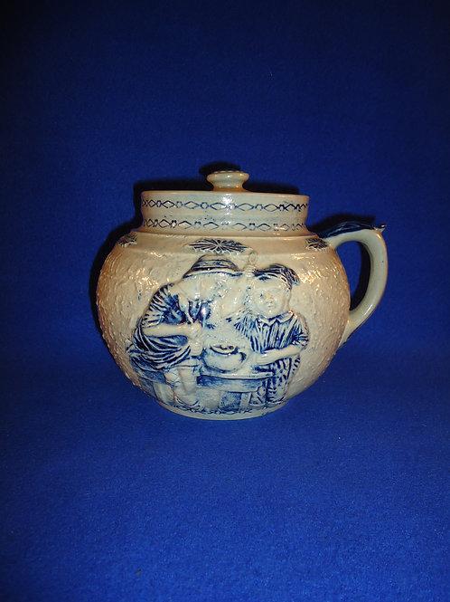 Boston Baked Beans Stoneware Pot by Whites of Utica, N.Y. #4581