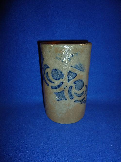 Circa 1870 Stove Pipe Wax Sealer with Emblem, SW Pennsylvania #5213