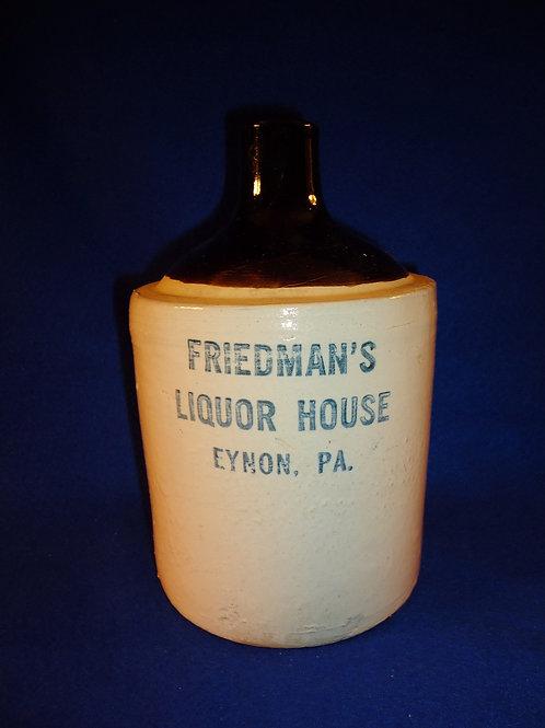Friedman's Liquor House, Eynon, Pennsylvania