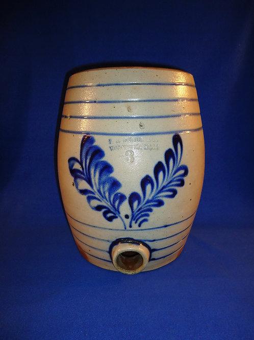 F. B. Norton, Worcester, Massachusetts 3g Stoneware Water Cooler