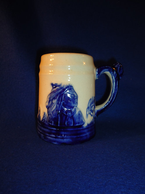 Old Sleepy Eye Stoneware Mug, Western Stoneware, Monmouth, Illinois