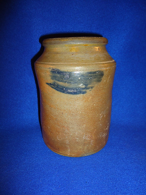 Circa 1820 Stoneware Canner attributed to Old Bridge, New Jersey