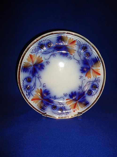 Edward Walley, Cobridge, England Gaudy Ironstone Plate, Blackberry Pattern No. 3