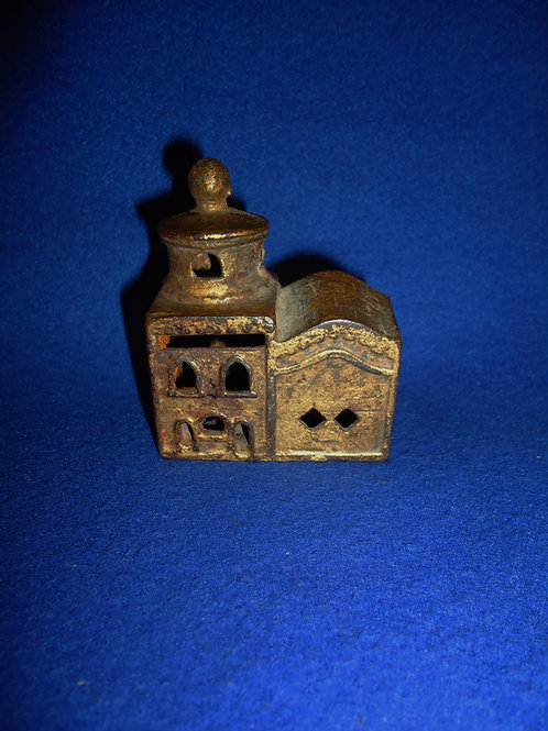 Mosque Cast Iron Bank, A. C. Williams #4559