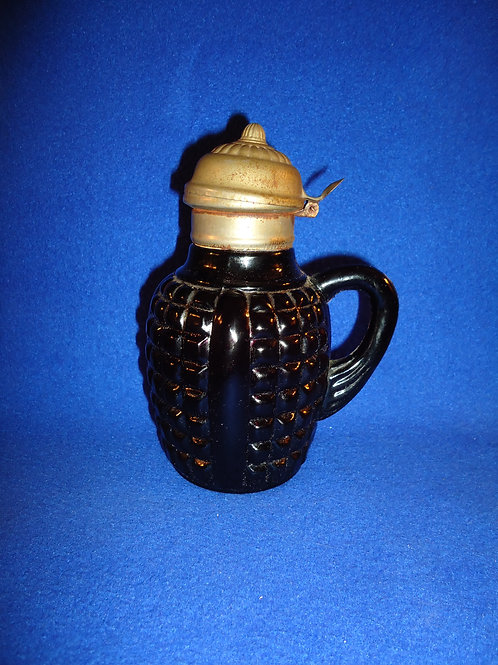 Amethyst Glass Syrup Dispenser #5358