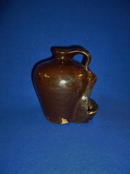 Dalton Pottery, Dalton, Ohio Stoneware Signed Chicken Waterer