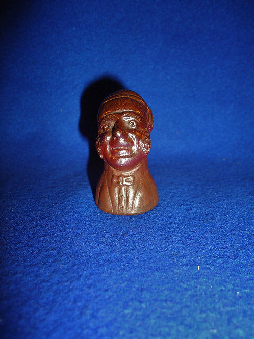 19th Century Candle Snuffer, Man in His Sleeping Cap