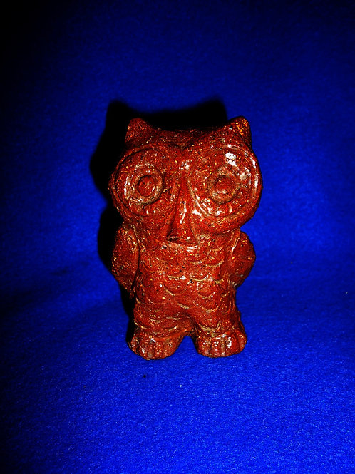 Sewer Tile Stoneware Cute Owl Figural