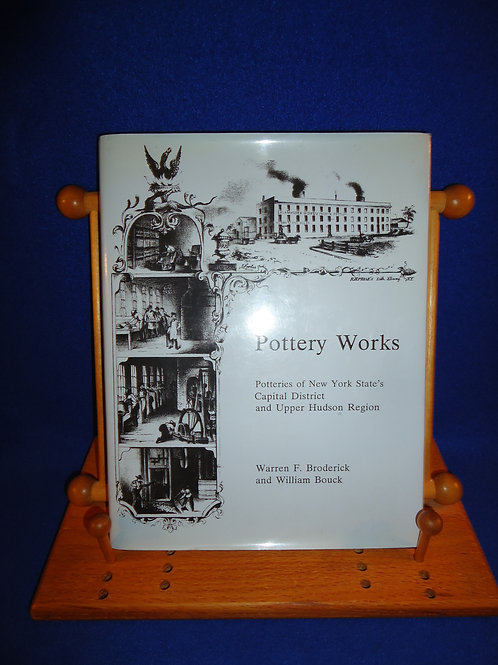 Broderick and Bouck, Pottery Works, NY Stoneware Book #4882