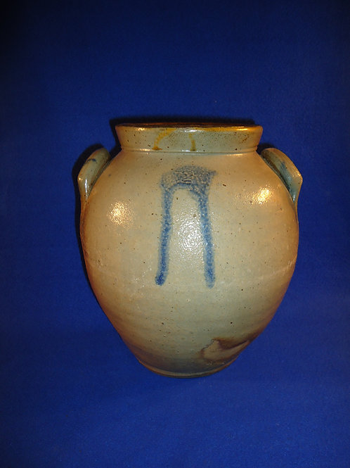 Circa 1830 2 Gallon Ovoid Jar from the Northeast