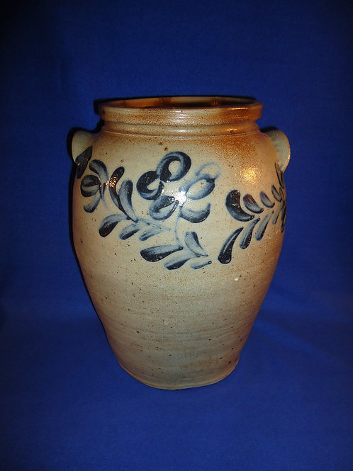 Circa 1840 3 Gallon Ovoid Jar from Baltimore, Maryland #5613