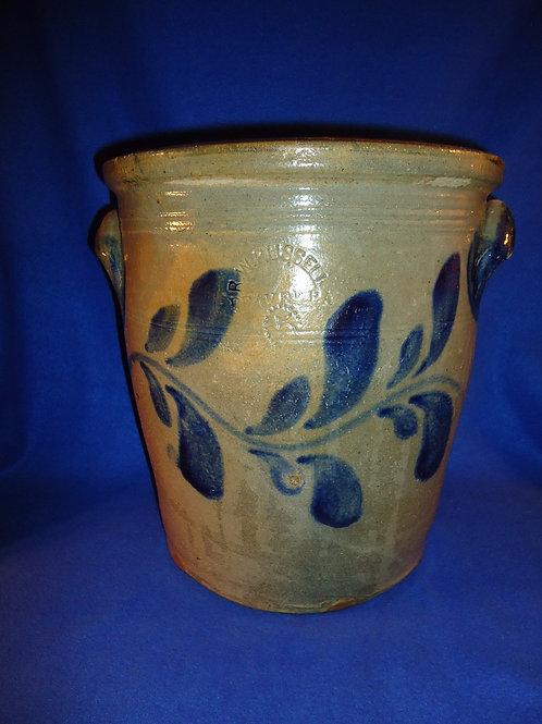 R. W. Russell, Beaver, Pennsylvania Stoneware 5g Cream Pot