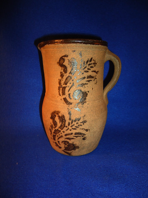 "7 1/4"" Tanware Pitcher from New Geneva, Pennsylvania"