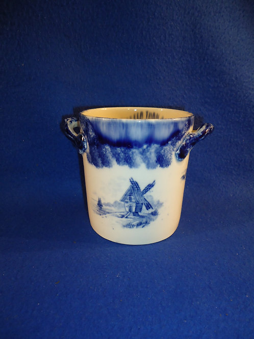 Sweet Clover Brand Condensed Milk Spongeware Container #5390
