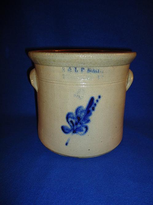 E. & L. P. Norton, Bennington, Vermont Stoneware 1 1/2 Gallon Crock #5404
