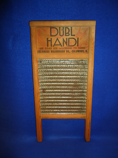 Dubl Handi Washboard, Columbus, Ohio #5574
