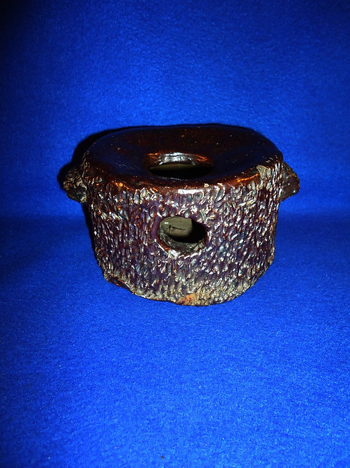Sewer Tile Stoneware Lady's Cuspidor Spittoon