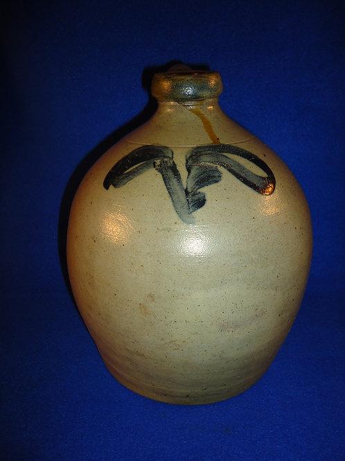 I. V. Machett, Cornwall, New York Stoneware 1 Gallon Jug