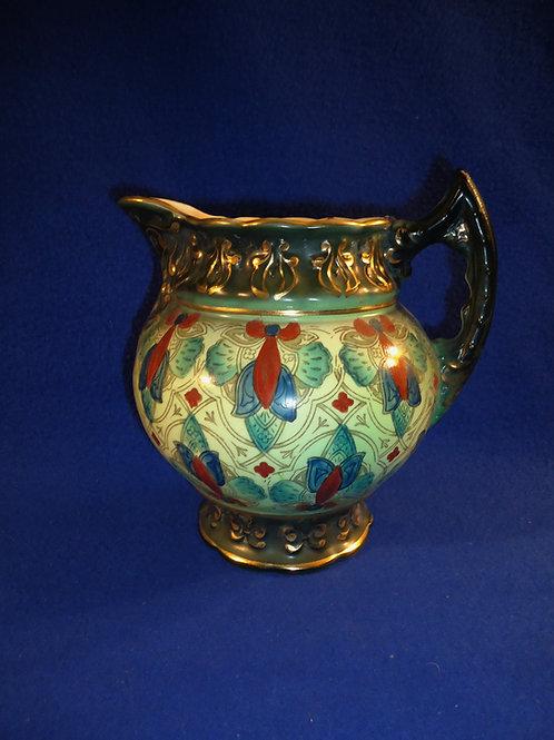 Haynes, Chesapeake Pottery, Baltimore, Maryland Pitcher, Arabian Pattern
