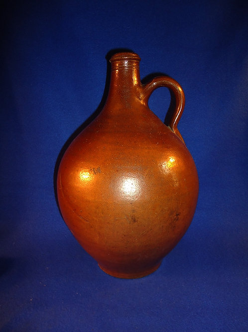 Early 19th Century Foreign Stoneware Ovoid Jug
