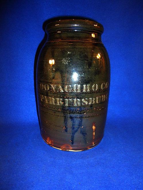 Donaghho, Parkersburg, West Virginia Stoneware 1g Wax Sealer
