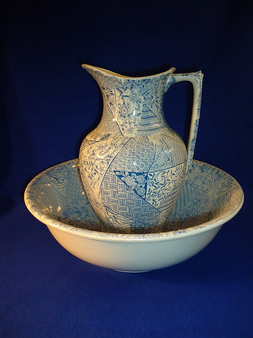 Lazarus Straus, New York, Pitcher and Bowl, Aesthetic Movement