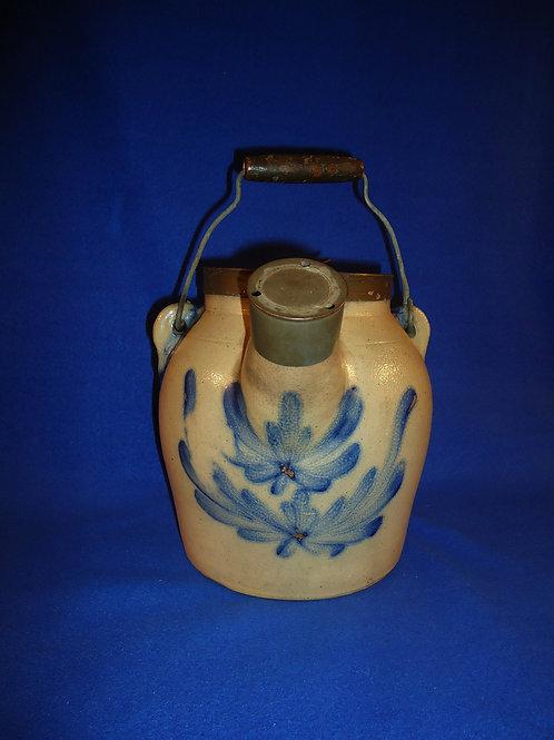 Cowden & Wilcox, Harrisburg, Pennsylvania Stoneware Batter Jug #4997