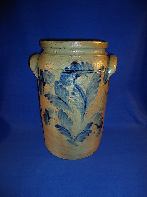 4 Gallon Stoneware Jar att. William Linton, Baltimore, Maryland #5004
