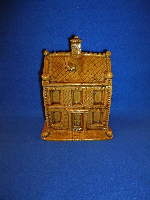 1867 Brick House Stoneware Tobacco Humidor