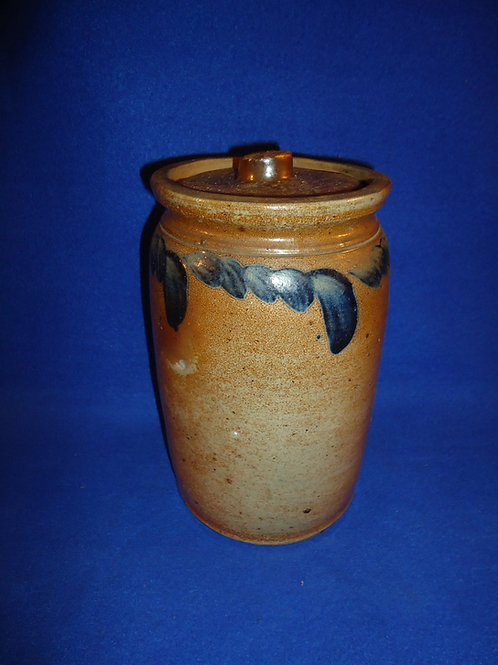 Circa 1870 Lidded Jar from Baltimore, Maryland, Whittemore Collection #5161