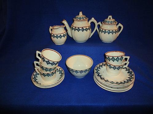 LStaffordshire Child's Tea Set, Cut Sponge, #4864