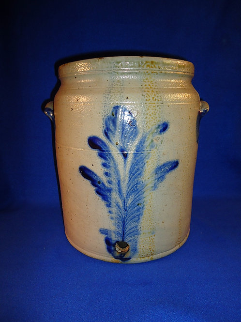 3 Gallon Stoneware Water Cooler att. Richard Remmey of Philadelphia