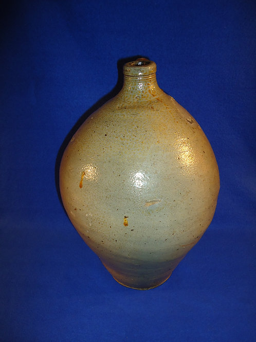 "2 Gallon Ovoid Jug marked ""BOSTON"" att. Frederick Carpenter"