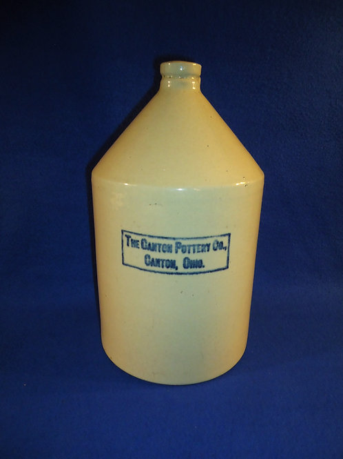 Canton Pottery Company, Canton, Ohio Stoneware Jug #5423