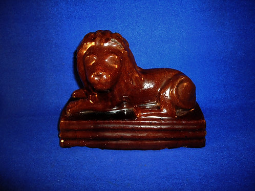 Sewer Tile Recumbant Lion by M. Griley