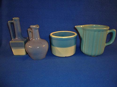 Four Utilitarian Stoneware Kitchen Items for One Money, #4650