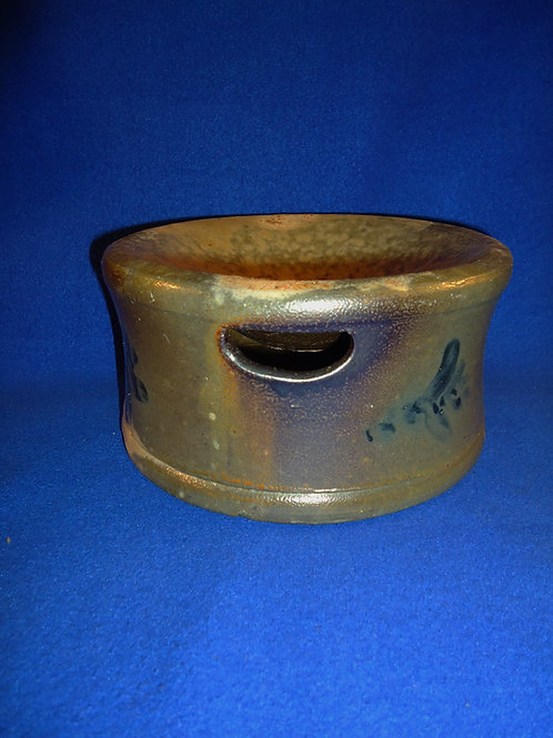 Circa 1860 Decorated Stoneware Spittoon Cuspidor from Virginia