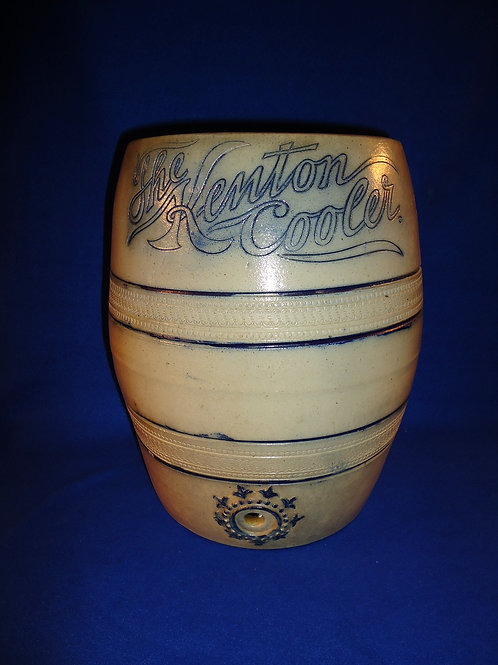 "3 Gallon Stoneware ""Kenton Cooler"" att. Wingender, Haddonfield, New Jersey"