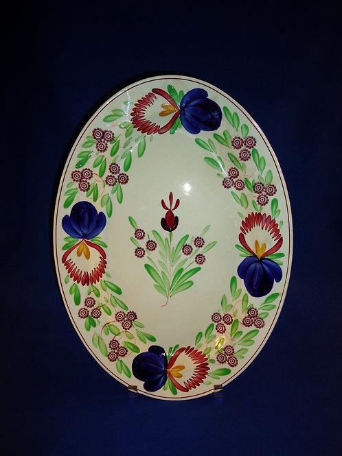 Villerory & Boch, Dresden Stoneware Platter- Virginia Pattern