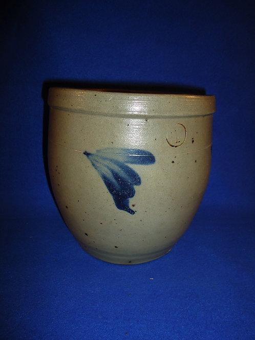 1 Gallon Stoneware Cream Pot, att. Ralph Grier, Chester County, PA #5159
